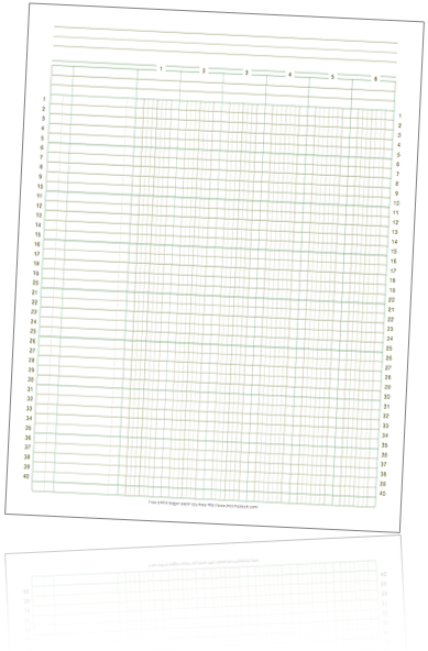 free online accounting ledger paper