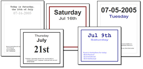 photograph relating to Daily Calendar Printable called Website page For each Working day Calendar PDFs!