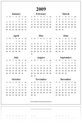 Calendar Year Q : Quentin sacco yearly calendar