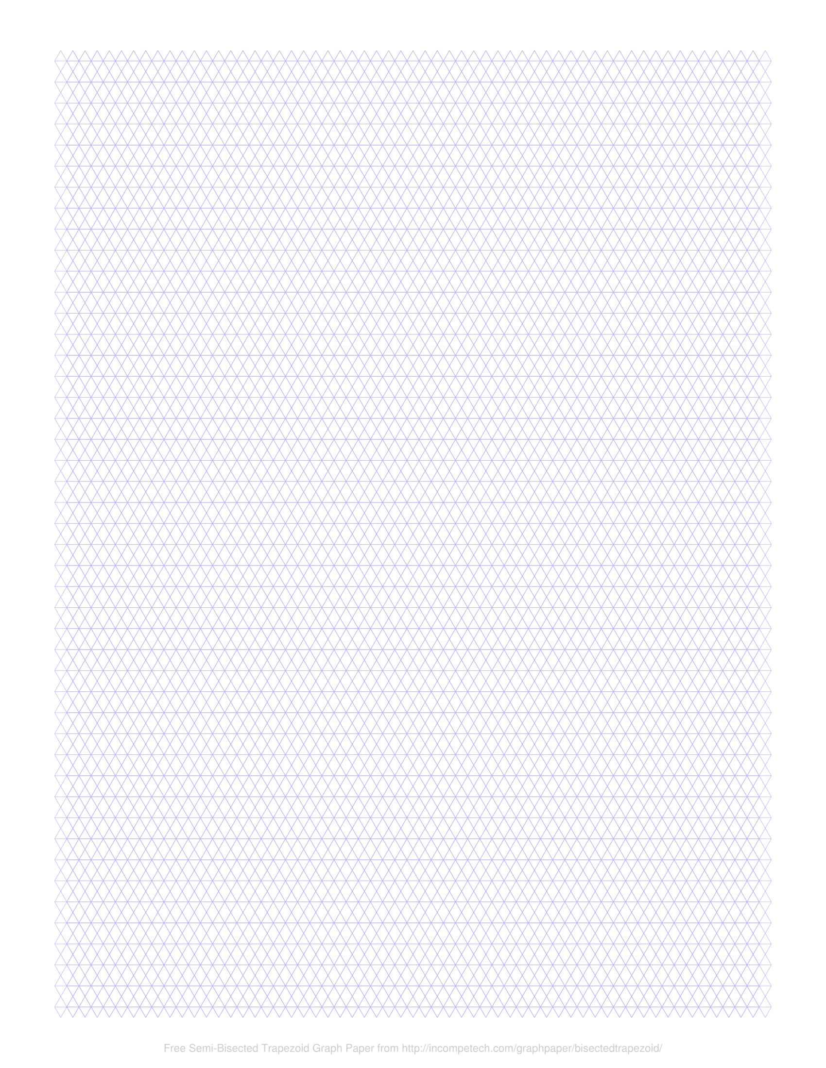 free online graph paper    semi  rhombus