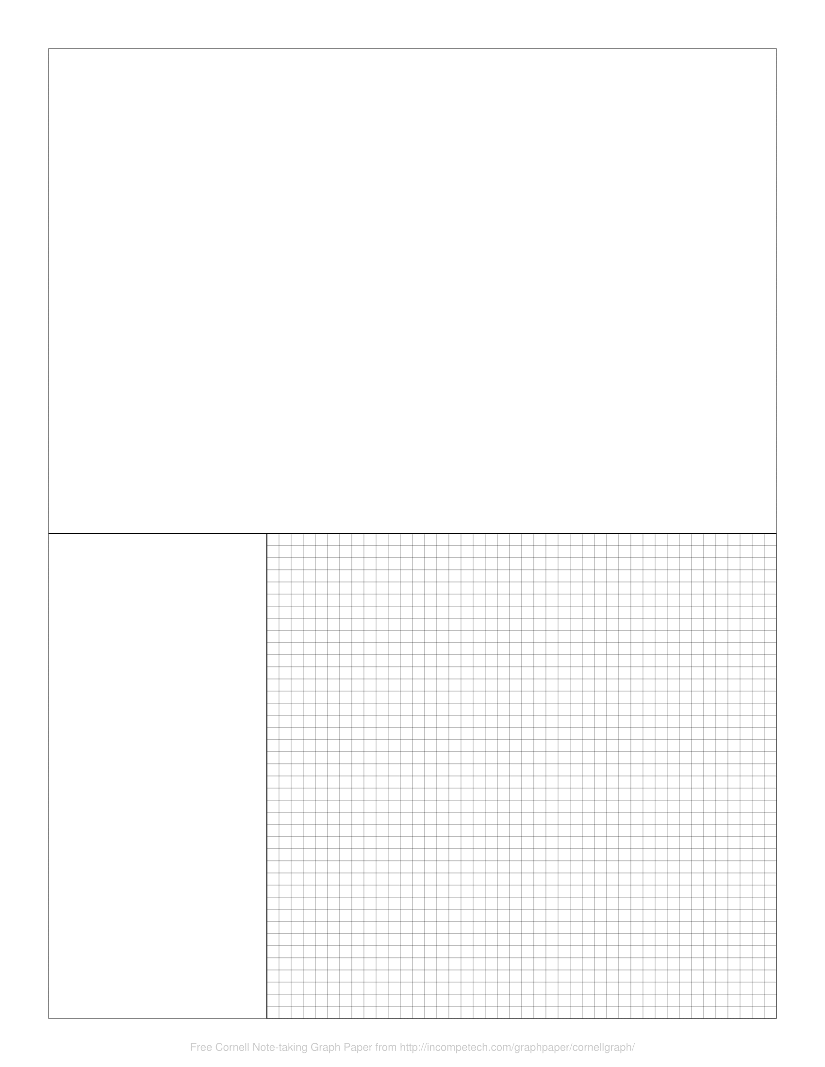 free online graph paper cornell note taking graph