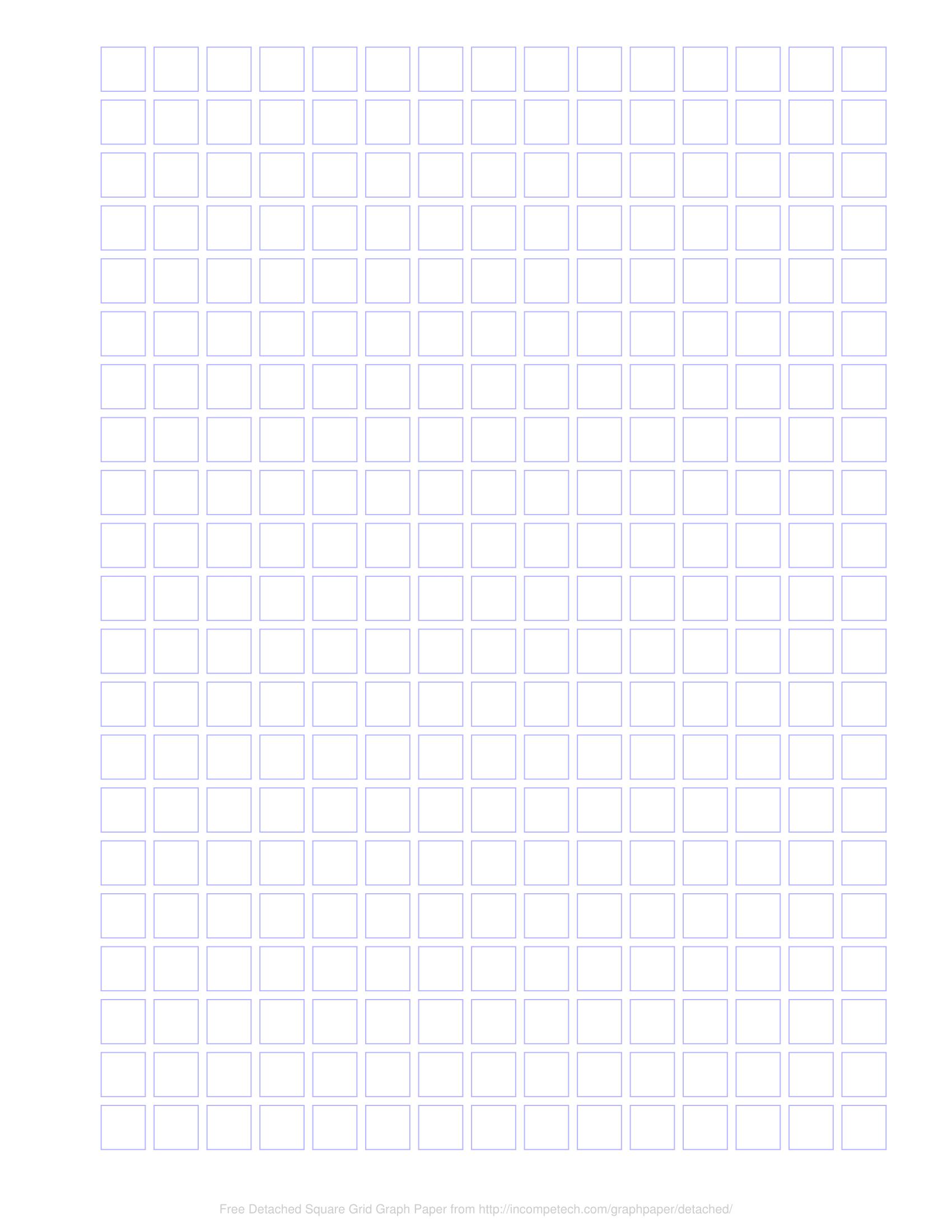 free online graph paper    detached squares