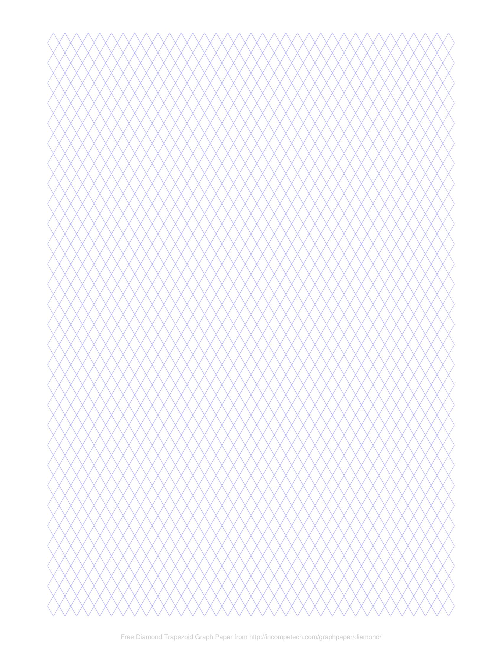 free online graph paper    diamond trapezoid