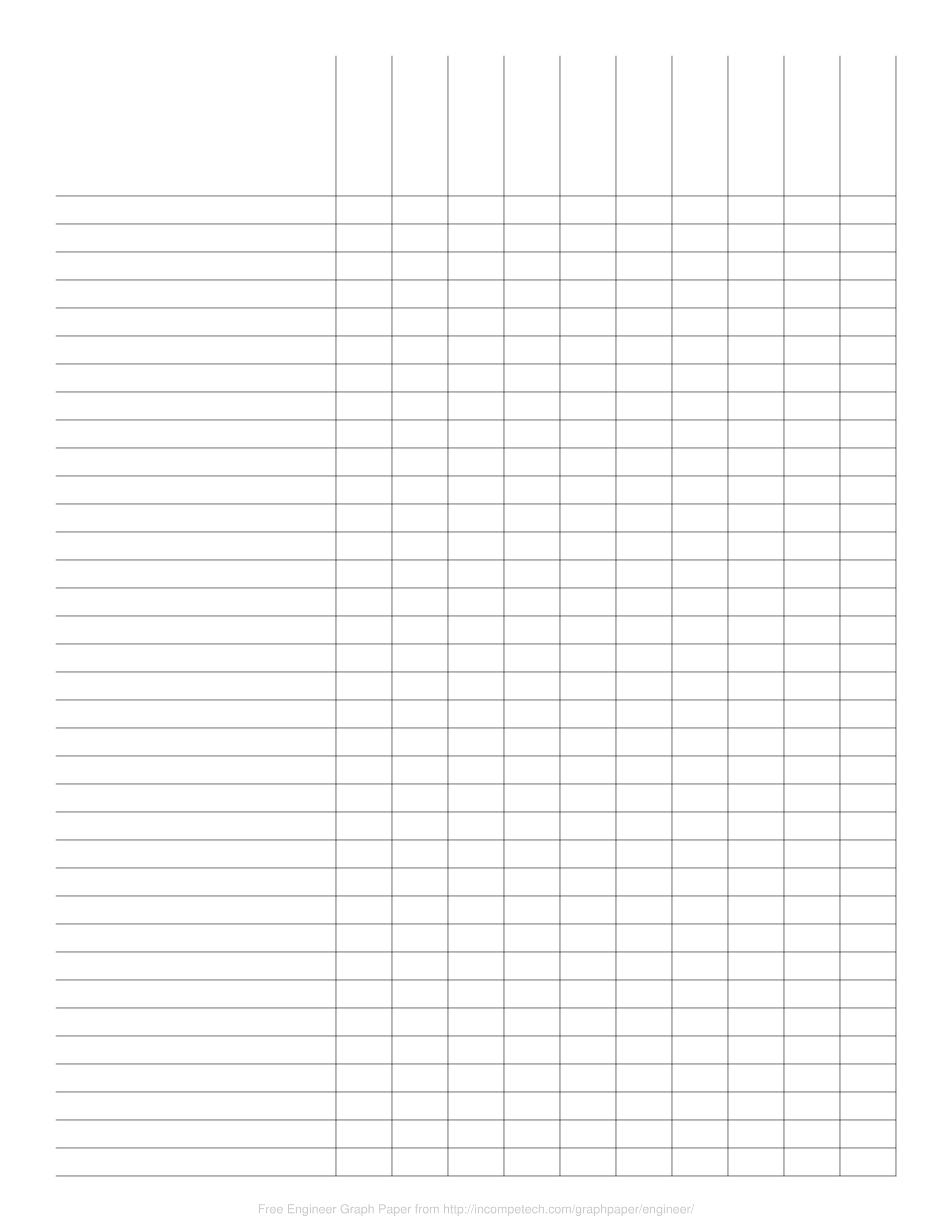 Free Online Graph Paper Engineer
