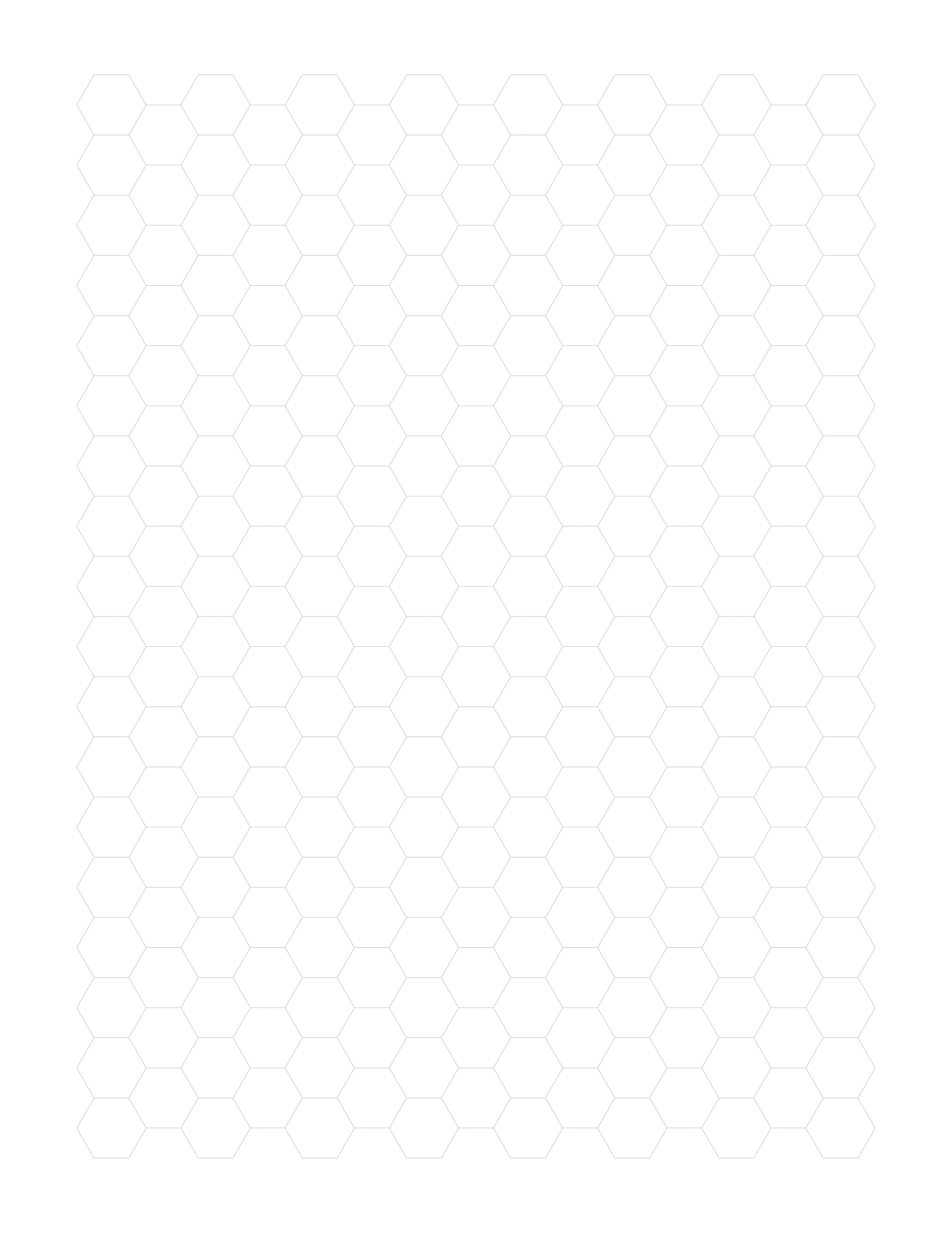 picture relating to Printable Hexagon Template known as Absolutely free On the internet Graph Paper / Hexagonal