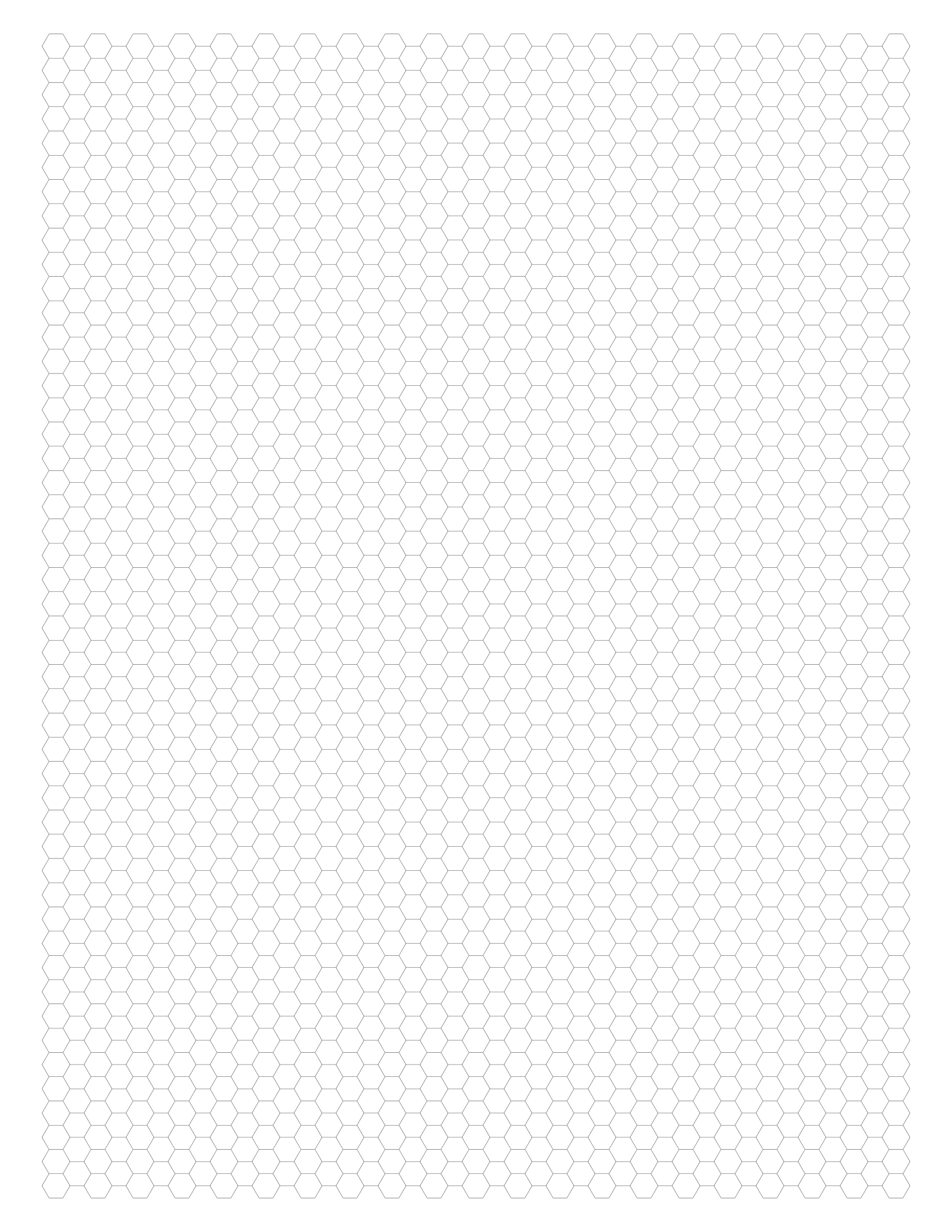 picture regarding Hex Paper Printable identify No cost On the net Graph Paper / Hexagonal