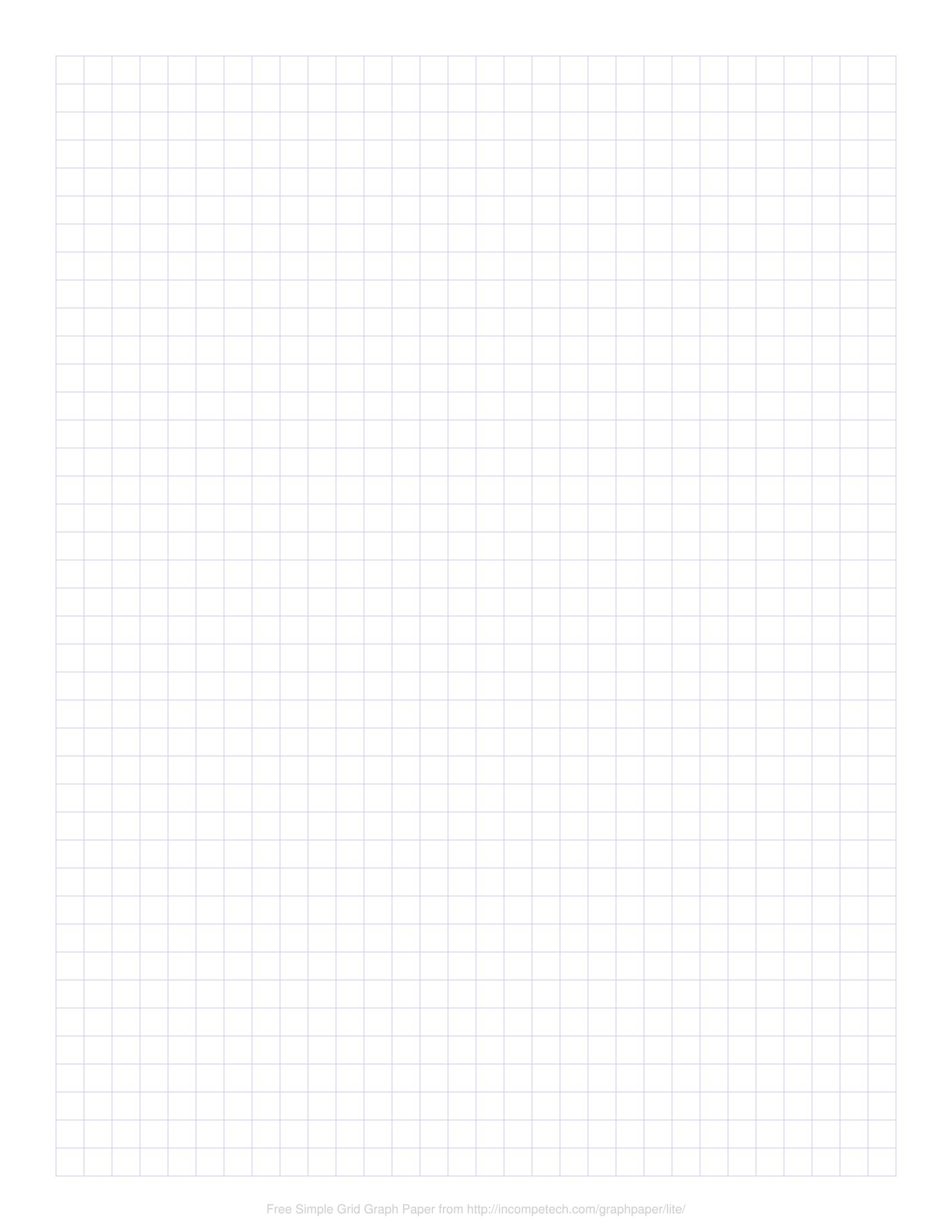 free online graph paper simple grid