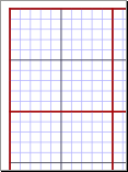 Multi-Color Graph Paper Preview