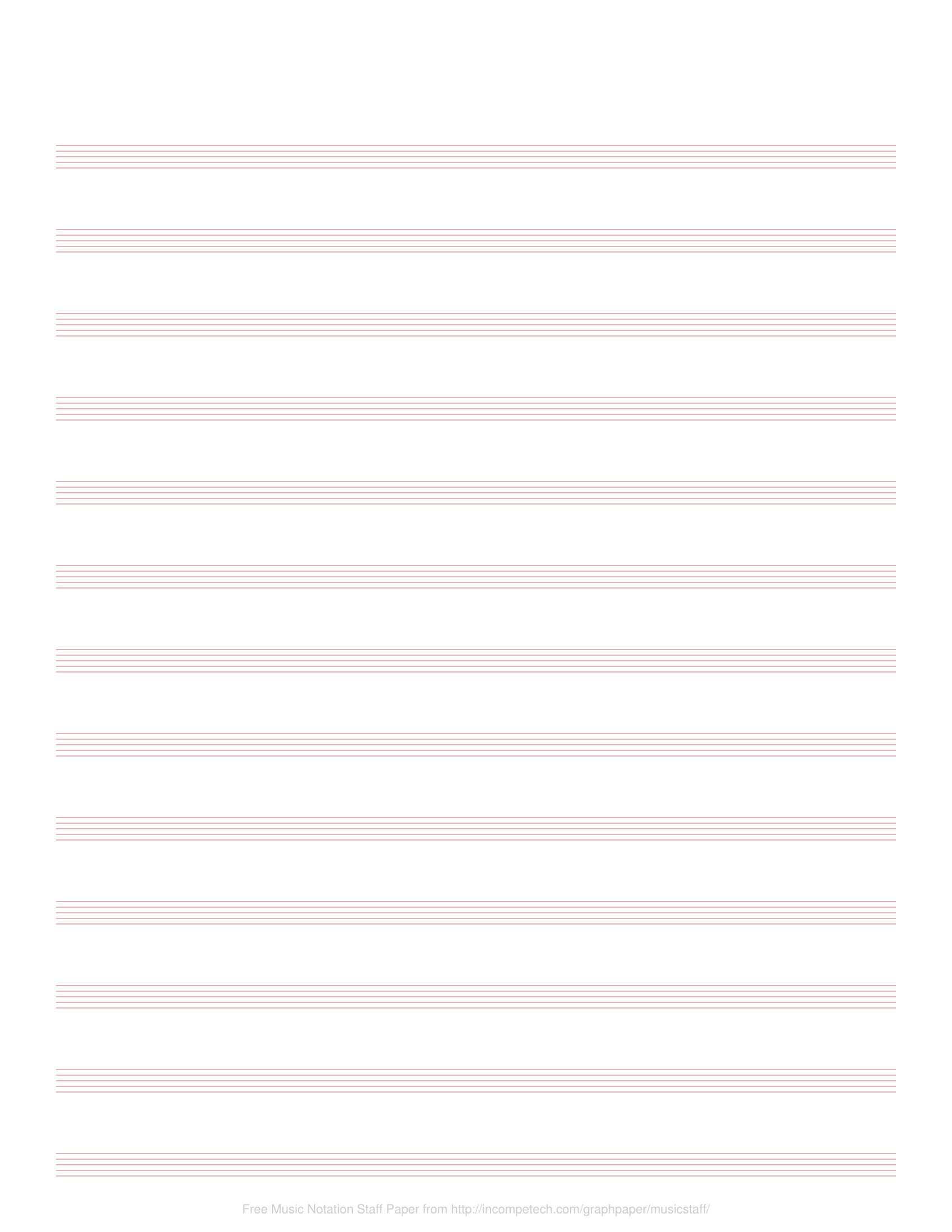 photo relating to Printable Staff Paper With Bar Lines titled Absolutely free On line Graph Paper / New music Notation