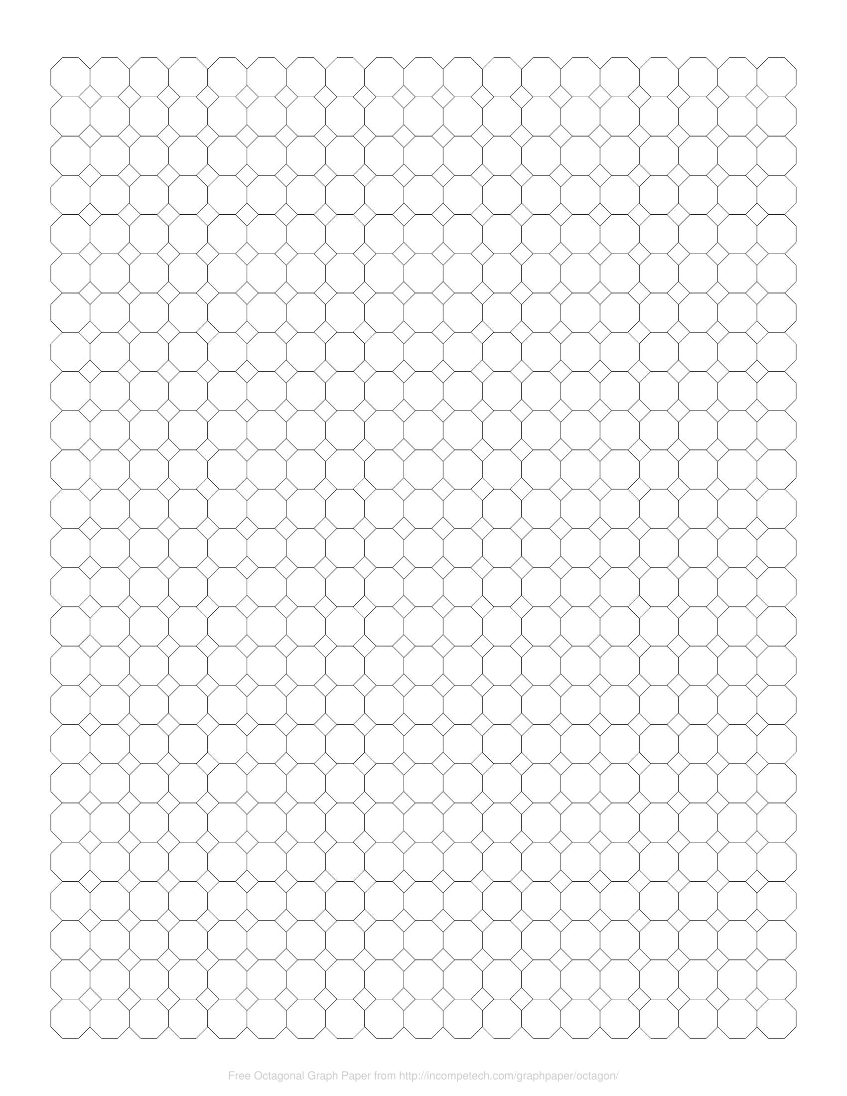 free online graph paper    octagonal