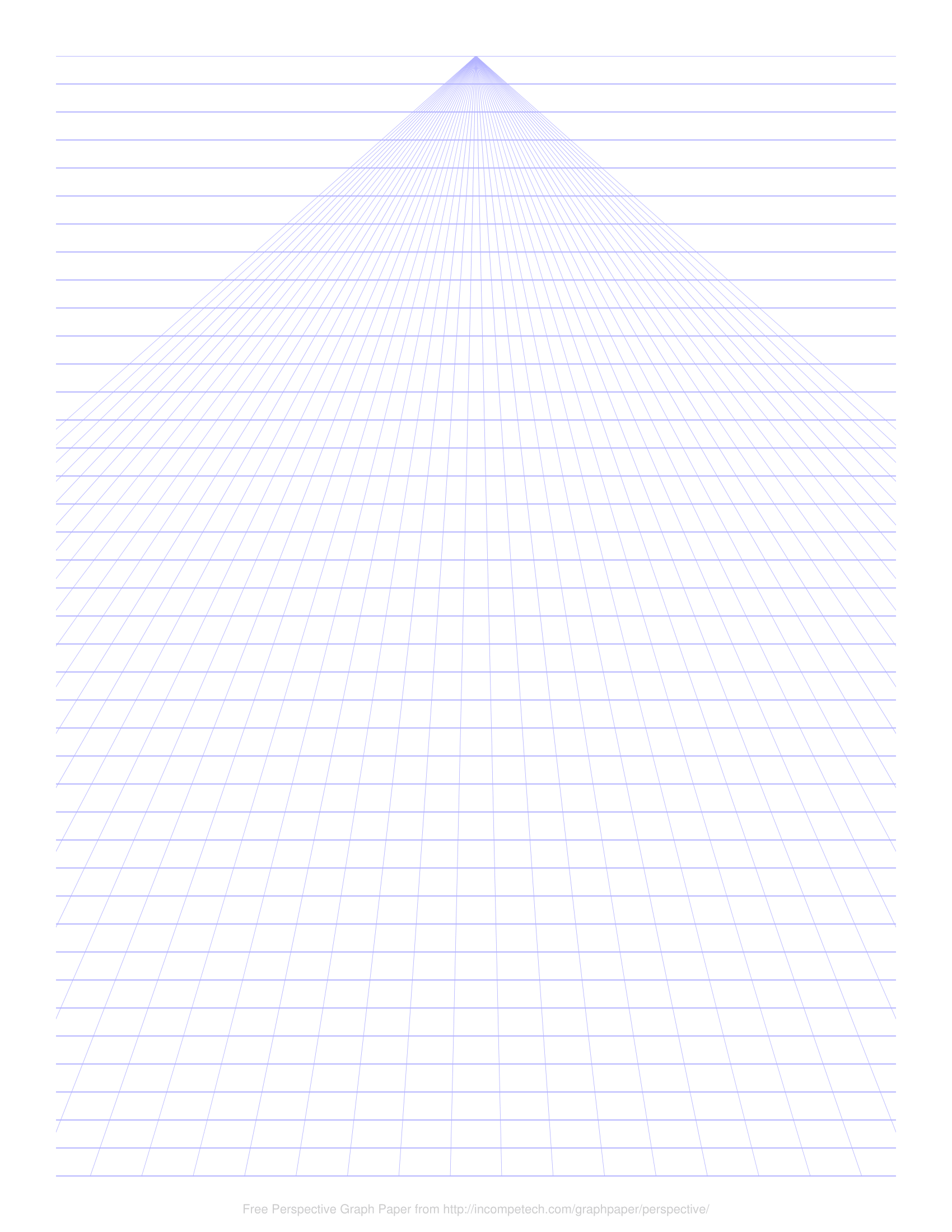 free online graph paper single point perspective