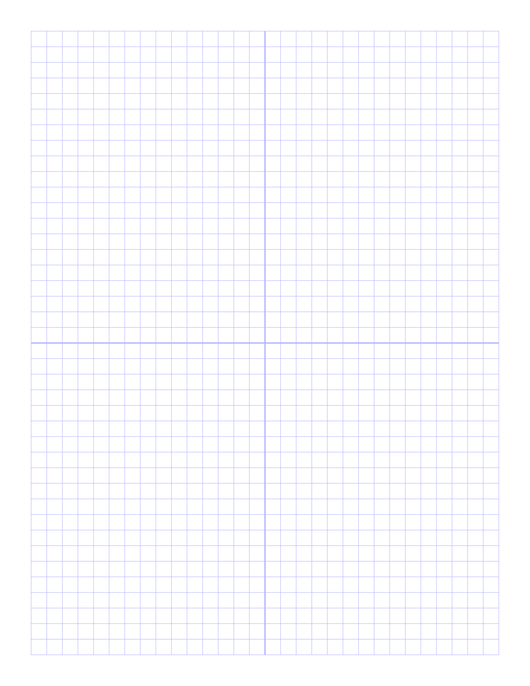 Free Online Graph Paper / PlainPrintable Graph Paper With Axis