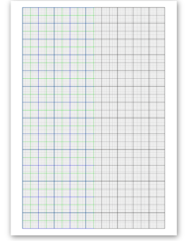image about Printable 25 Square Grid named No cost On-line Graph Paper / Uneven and Specialty Grid