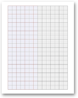 graphic regarding Printable Dnd Grid identified as Free of charge On the internet Graph Paper / Uneven and Specialty Grid