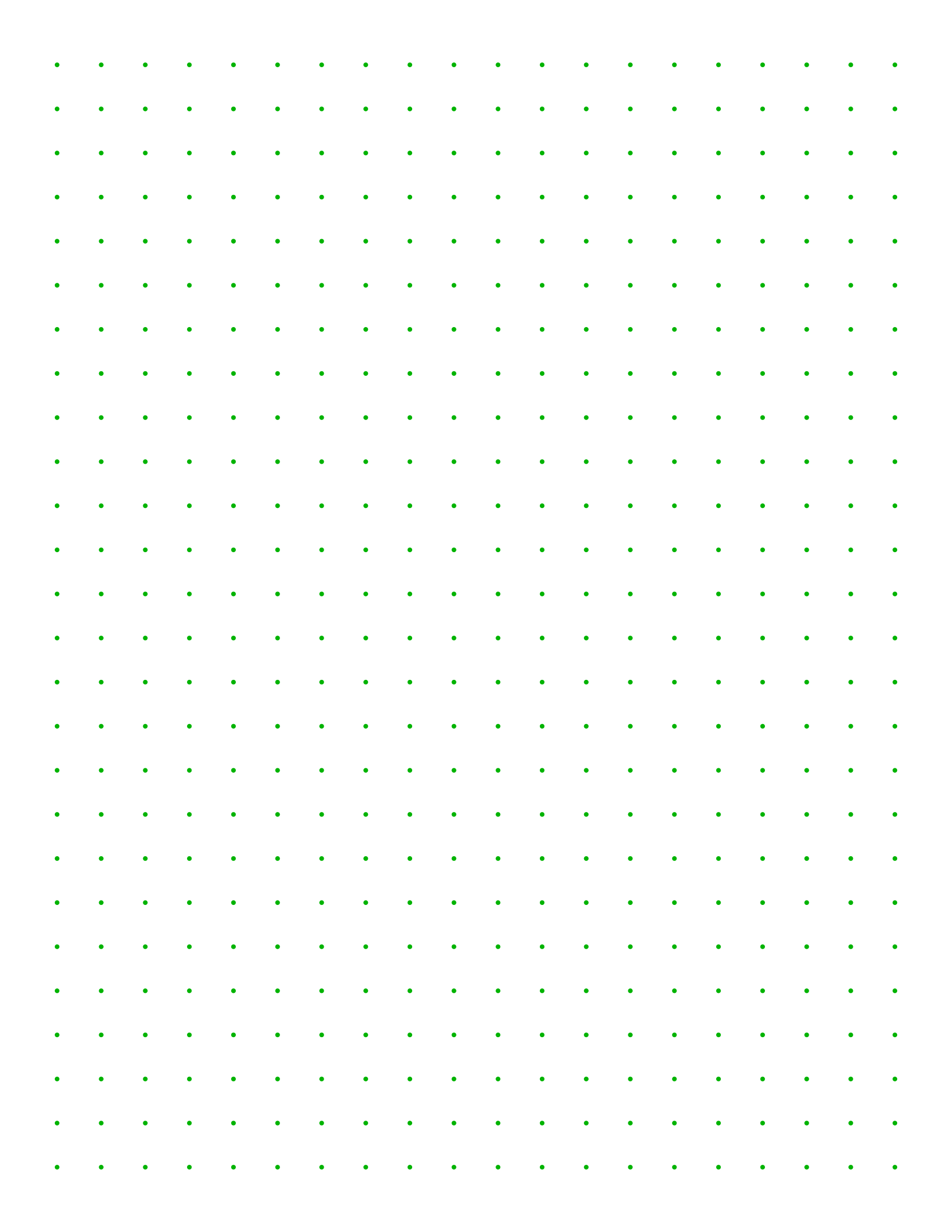photograph about Free Printable Dot Grid Paper called Absolutely free On line Graph Paper / Sq. Dots