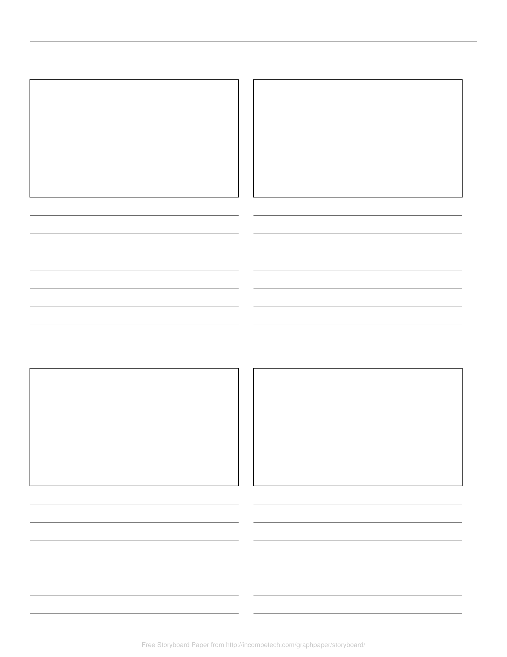 Free Online Graph Paper Storyboard